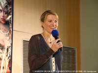LucyLawless London 2008 convention